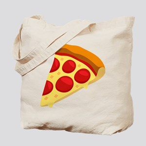 Pizza Emoji Tote Bag